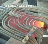 出售超音頻冷拉圓鋼扎頭加熱電爐