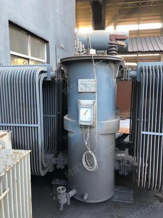 公司处理1台S9-2500 6-3电力变压器