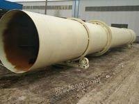 山东济宁转让二手锯末滚筒烘干机,直径1.2x12米1.5x15米,1.6x18米,1.8x18米的附件全
