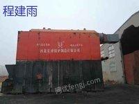 出售十五吨生物质热水锅炉