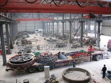 400吨每天的红土镍矿烧结机