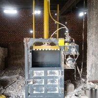 山东临沂厂子倒闭 25吨液压打包机,9成新 出售