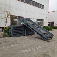 浙江温州出售编织袋卧式液压打包机废纸箱打包机 26800元