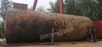 柴油标配罐。九成新。50立方。长八米一。直径2.9米带防腐保用15年出售