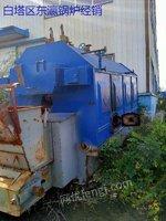 沈阳出售二手1吨蒸汽锅炉生物质手续全套附机