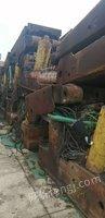 出售废旧防爆电机和气泵、变压器、导轨、液压支架5万吨左右