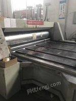 上海崇明县转让双色印刷开槽机