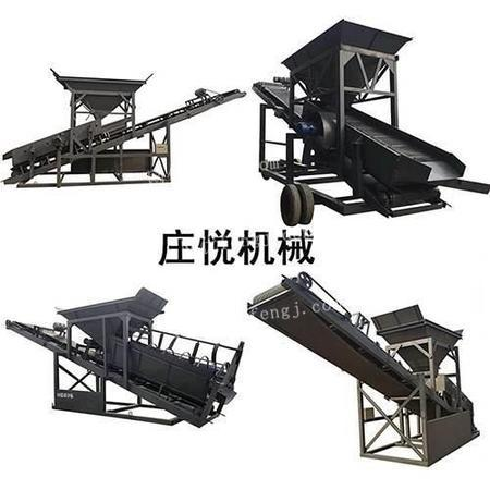 筛沙机 筛沙机械设备流水线 庄悦机械 供应
