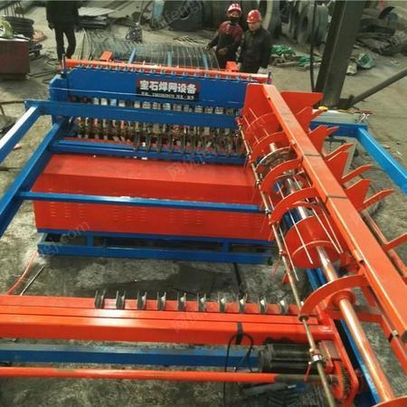 全自动钢笆网片排焊机 建筑脚踏网焊网机 机械设备
