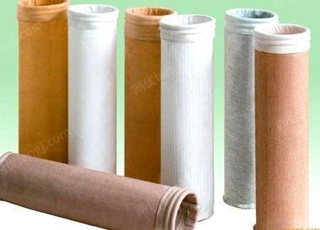 除尘器配件布袋 涤纶针刺毡布袋 内蒙除尘滤布 各种材质型号