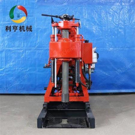 XY-200液压地质勘探钻机 利亨小型水井钻机 家用打井机械设备