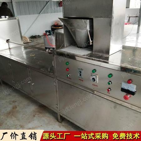 全自动素鸡机 自动切断小型素鸡机生产线 中科豆制品机械设备直销