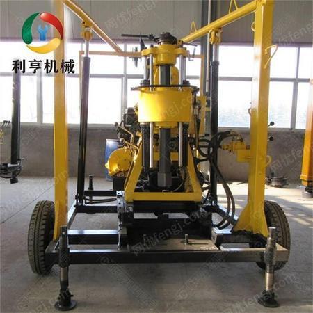 利亨机械LH-200X轮式水井钻机 小型打井机械设备 厂家直销