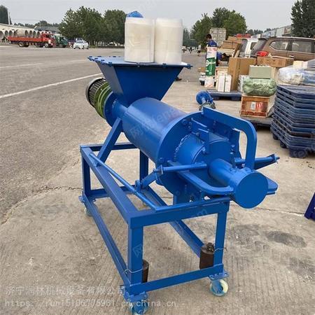 振动斜筛式固液分离机 干湿固液分离脱水粪便处理机 养殖机械设备