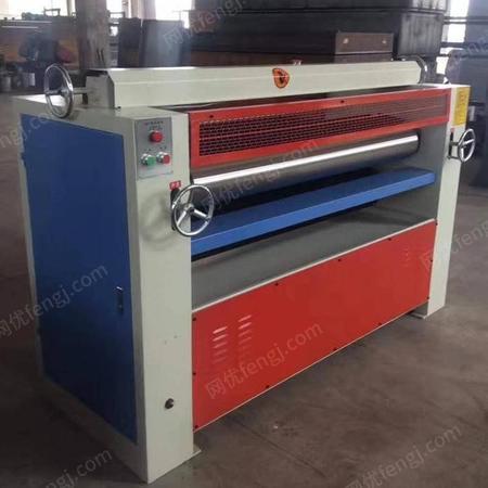 供应木工双面涂胶机 木皮布胶机 旭泰昌单板涂胶机等人造板二次贴面成套木工机械设备