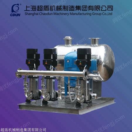 定制无负压供水设备二次增压泵罐式无负压供水设备