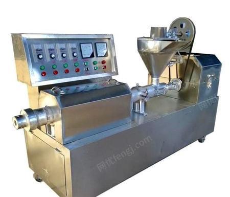厂家直销新型大豆蛋白挤出机 人造肉机 豆皮机不锈钢设备