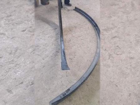 F6液压扁铁卷圆机 槽钢弯曲设备 风机专用成型设备