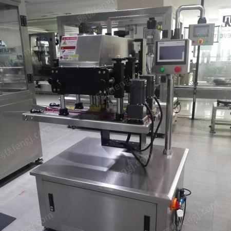 全自动回转式旋盖机 成都自动旋盖机生产厂家 群泰机械设备
