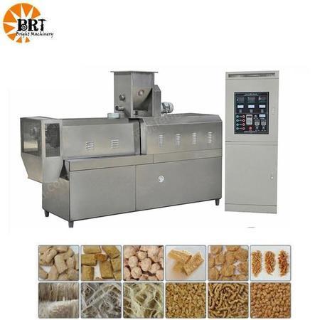 济南比睿特机械 厂家定制大豆蛋白设备生产线 素肉产品加工设备 拉丝蛋白膨化机械