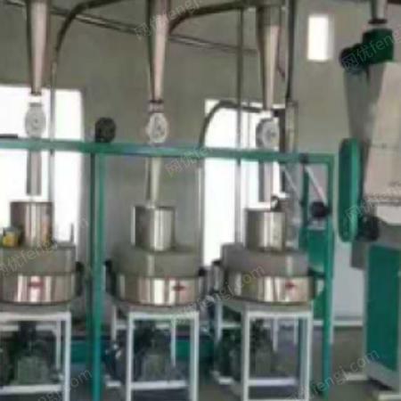 全自动面粉石磨机供应 定制面粉石磨机供应 富民粮油机械