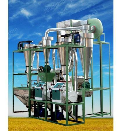 不锈钢小麦磨面机规格齐全 小麦磨面机 富民粮油机械