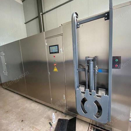 秦皇岛固液干湿分离机 垃圾分类分拣机械设备 餐厨垃圾处理一体机