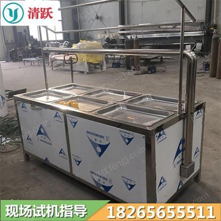 油皮机 方盘豆制品加工设备 酒店豆皮机 器 清跃机械