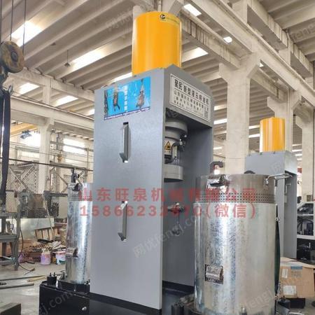 山东民旺带壳铁核桃榨油机全套设备 压榨食用油大型压榨机械生产厂家