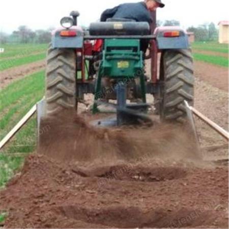 林业机械设备种植树苗植树钻孔机 林业机械栽树苗地钻机 挖树坑机配件
