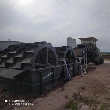 普拓机械 大型轮斗式洗砂机设备