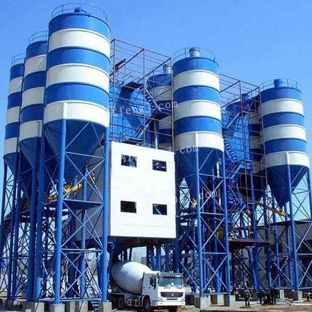 厂家直销混凝土搅拌站 HZS75站 山东混凝土机械设备