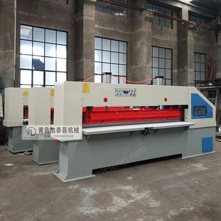 厂家生产木皮剪子 青岛旭泰昌木工机械制造薄木剪切机 气动油压可定制
