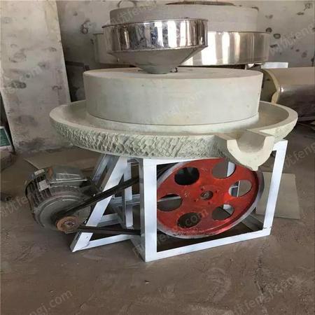 50型多功能电动石磨豆浆机 香油石磨制作机 康达机械
