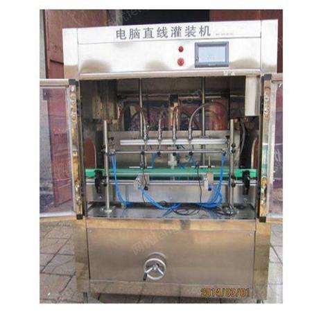 简易灌装设备生产线 快速灌装设备 恒鲁机械 自动灌装设备制作