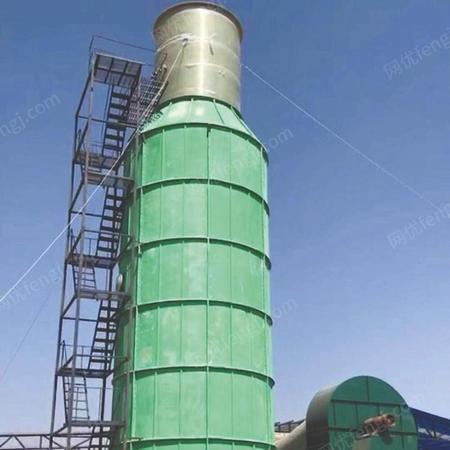 烟气脱硫塔生产厂家 万通机械 脱硫塔设备占地面积小 价格公道