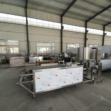 鑫聚全自动小型家用自动多功能豆腐皮机辽宁地区干豆腐机千张机豆制品机械设备