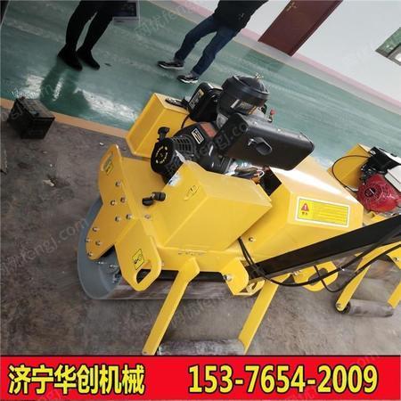 手扶单轮压路机 沥青路面压实 建筑工程基础压实机械 品质保障
