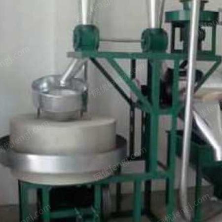 石磨机咨询 富民粮油机械 全自动石磨机加工 石磨机推荐