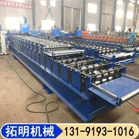 压瓦机厂家 全自动仿古压瓦机 拓明压瓦机 生产供应 圆弧琉璃瓦压瓦机设备