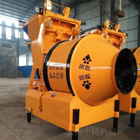 云南JZM400型摩擦式混凝土搅拌机 砂浆石子混合拌料机 建筑机械设备