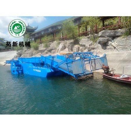 拓新机械 半自动水面保洁船设备 保洁船品牌
