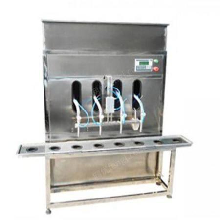 半自动杀菌液生产线 半自动杀菌液灌装设备 恒鲁机械
