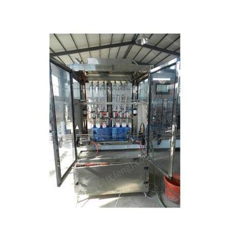 恒鲁机械 罐装设备医用酒精专业 全自动医用酒精机械