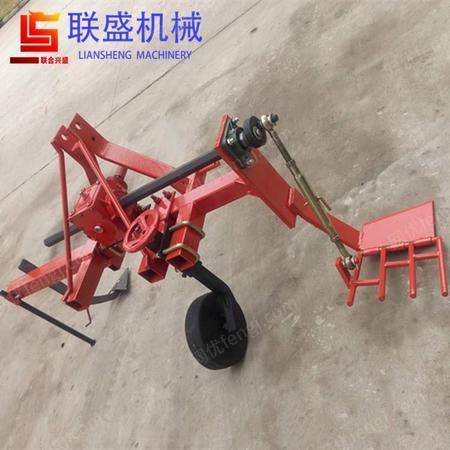 直销单垄大葱收割机 挖葱机械设备 四轮拖拉机后悬挂大葱挖掘机械