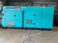 云南昆明440kw二手柴油发电机日本电友小松静音发电机组出售