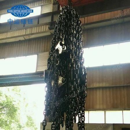 供应浮筒锚链-浮标锚链-航标锚链-马鞍链