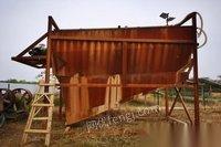 湖北武汉环保不让做转让1套19年买的闲置3米*3.4米水轮洗沙机,鄂破400*600 滚筒筛1.5*5 看货议价,可单卖.