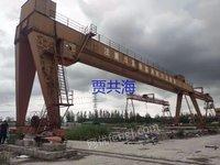 上海泾海起重出售二手双梁龙门吊20吨-42米