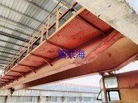 泾海起重二手QD双梁起重机16/3.2吨跨度22.5米出售